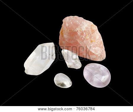 Semiprecious silica rocks