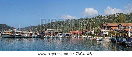 Panorama of Pleasure Boats TURKEY