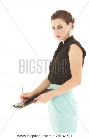 Adult Caucasian Businesswoman