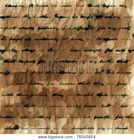 Handwritten Text Background