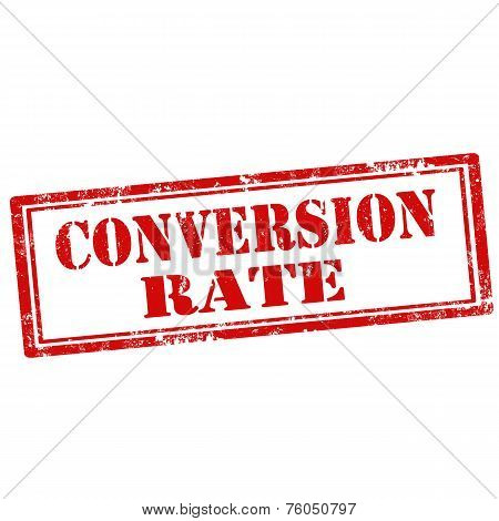 Conversion Rate-stamp