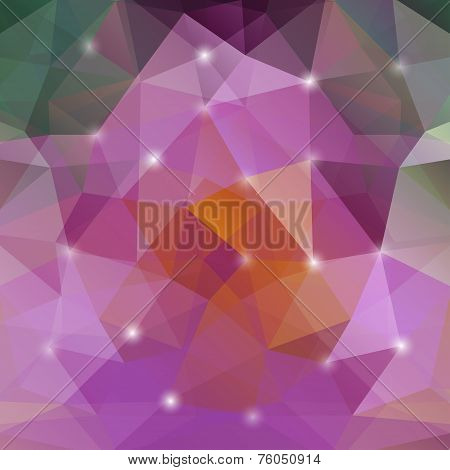 Vector Modern Abstract Geometric Background