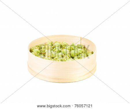 Inflorescence hop in the sieve.