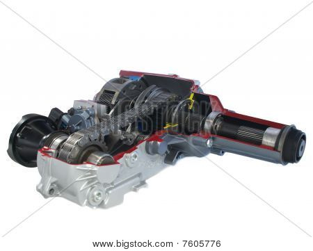 car parts: Transfer case - electric shift