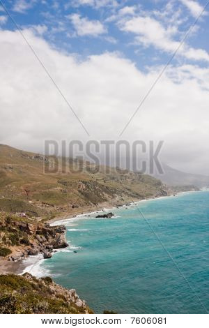 Coastal Landscape At Preveli