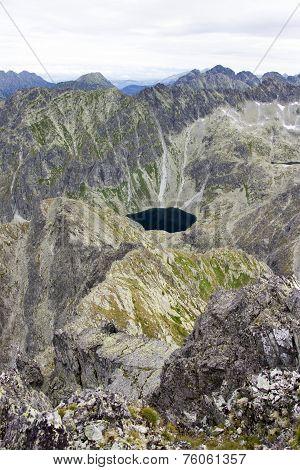 Glacier Lake In Slovakia