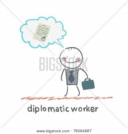diplomatic worker