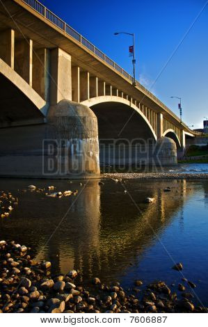 Lorne Bridge In Brantford, Ontario, Canada