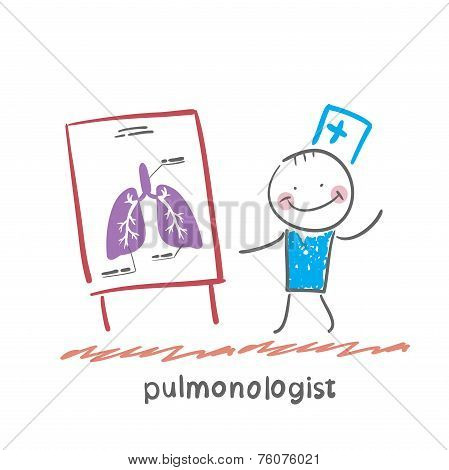 pulmonologist says lung