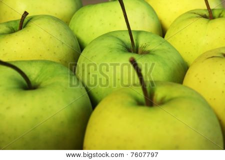 Some green apples