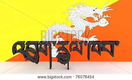 Dzongkha Characters Meaning Bhutan