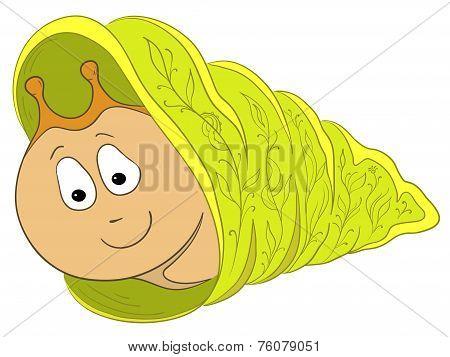Cartoon, snail