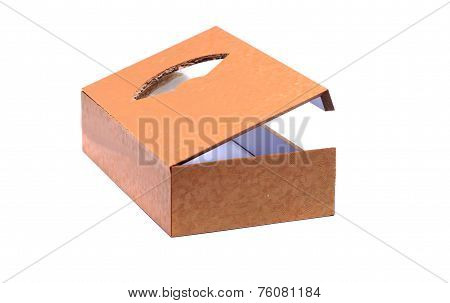 A Small Wooden Box With Transparent Window
