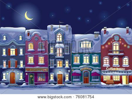 Midnight Cityscape