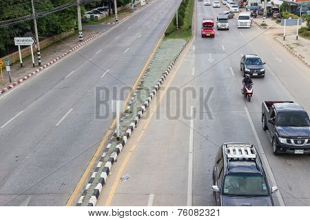 Traffic In Asian City