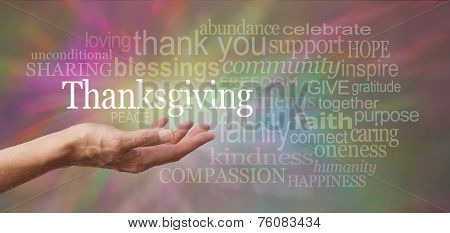 Celebrate Thanksgiving Day