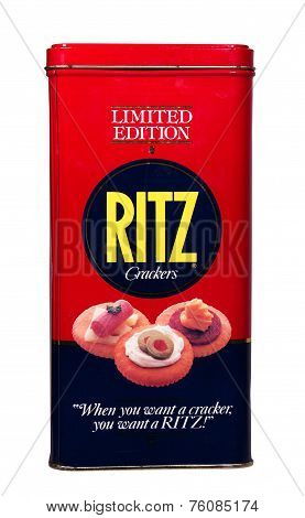 Ritz Cracker Tin
