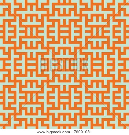 Seamless optical art mesh pattern