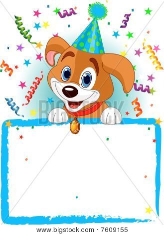 Baby Dog Birthday