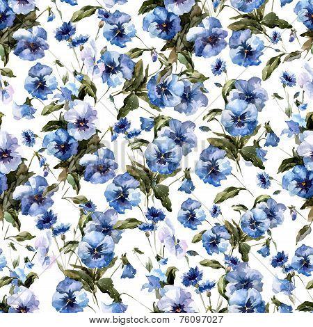 Blue flowers 11