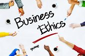 picture of ethics  - People Working and Business Ethics Concept - JPG