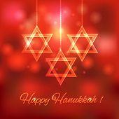 picture of hanukkah  - Happy Hanukkah blurred background  - JPG