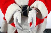 pic of unbelievable  - Santa in Hand Cuffs - JPG