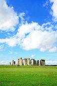 image of stonehenge  - Stonehenge an ancient prehistoric stone monument near Salisbury Wiltshire UK - JPG
