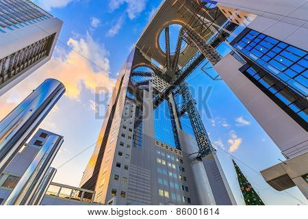 Umeda Sky Building in Osaka, Japan