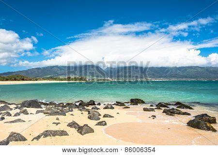 Kahului Beach in Maui, Hawaii