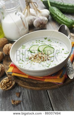 Tarator, Bulgarian Sour Milk Soup