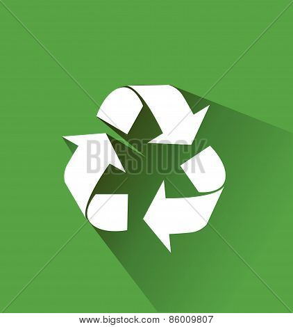 recycle, flat icon