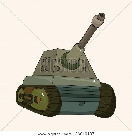 Tank Theme Elements Vector,eps