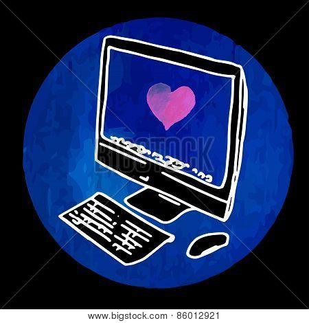 Modern stylish personal computer