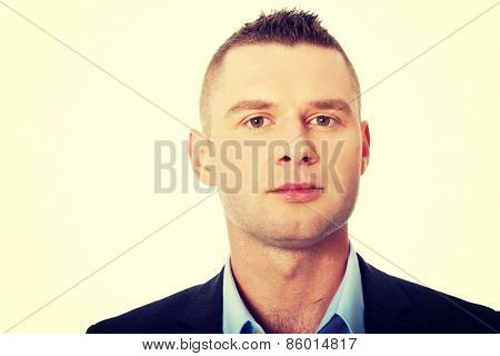 Confident formal business man portrait