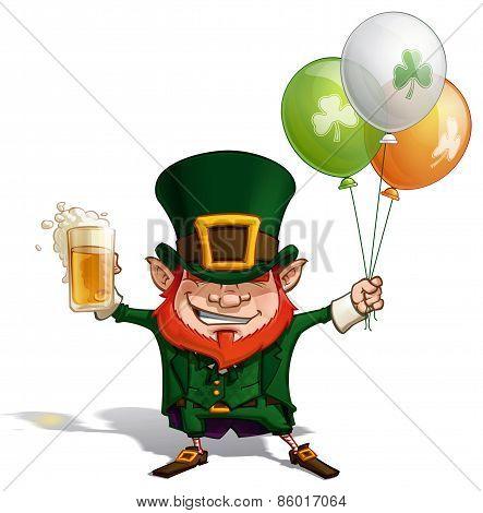 St Patrick - Balloons