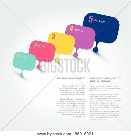 Speech Bubble Template.