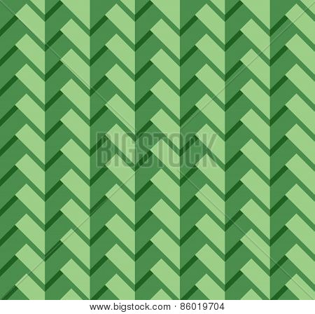 Green rectangle pattern
