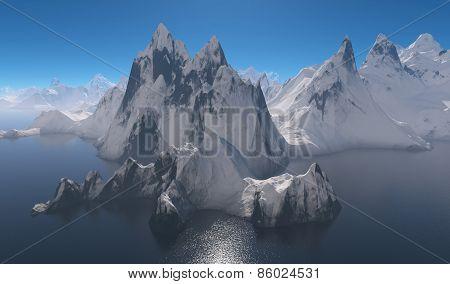 Mountains On The Coast.
