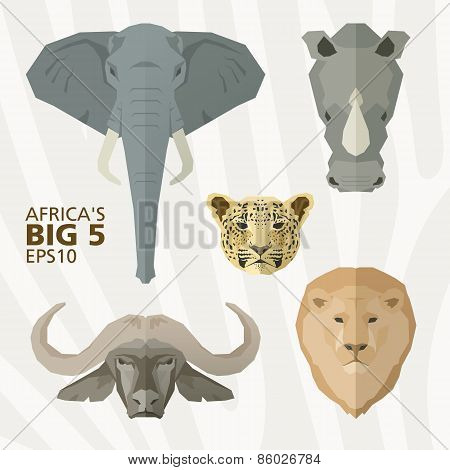 Africa's big 5 animals