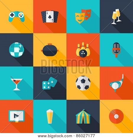 Entertaining Icons Set