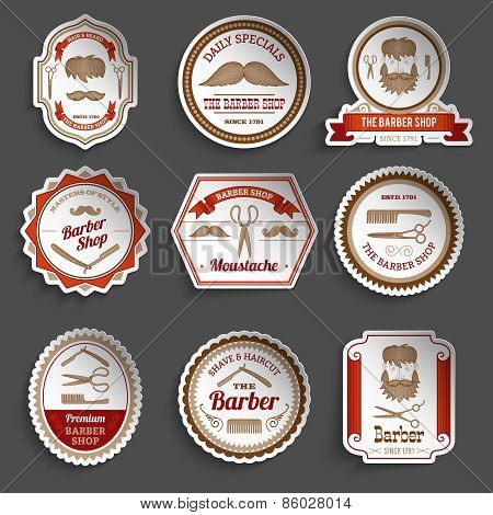 Barber Shop Stickers