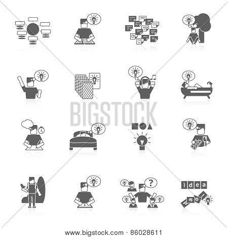 Ideas Icons Set