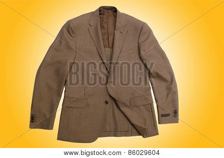 Jacket isolated on the white background