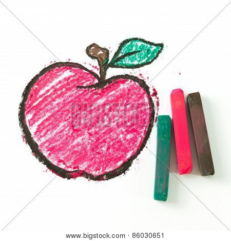 Drawing Of Apple