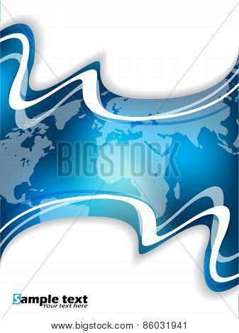 Blue Corporate Brochure Design