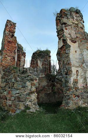 ruins of the Pniewski castle