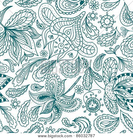 Vector Ornamental Indian Pattern
