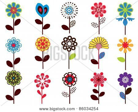 Seamless flower  pattern - access swatch