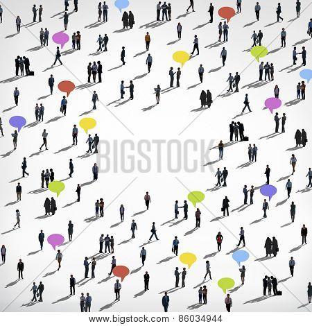 People Diversity Concept
